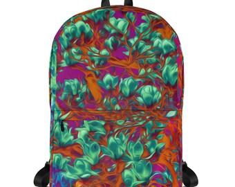 Floral Backpack Fully Printed Original Design