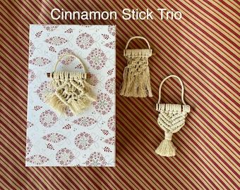 Christmas Macrame Ornaments I Gifts I Tree I Wreath I Knots I Woven I Home Decor Boho