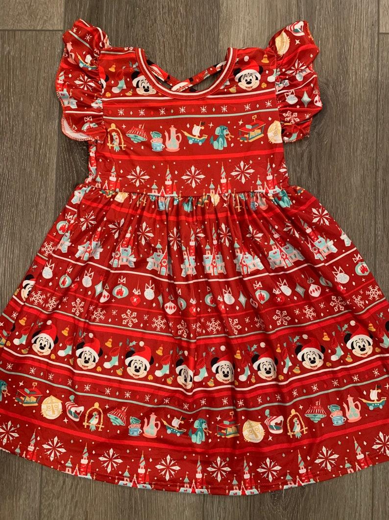 Disney Parks Holiday dress