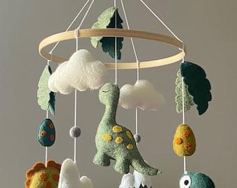 Baby Mobile/ Dinosaur Mobile/ Baby Dinosaur mobile/ Nursery Mobile/ Handmade mobile/ Baby shower gift/ Baby Mobile Girl or Boy/ Crib mobile/