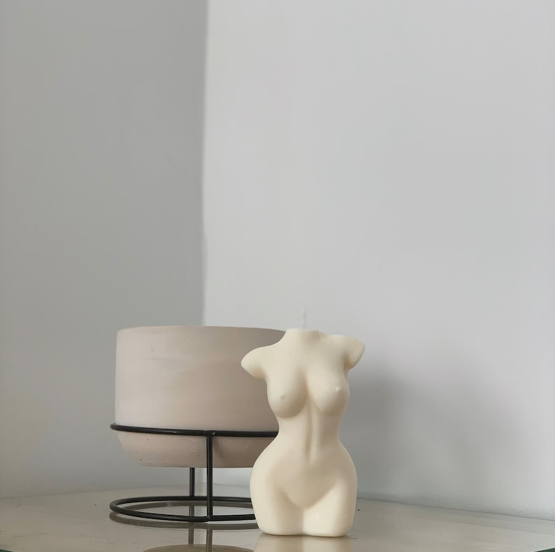 Candle body woman