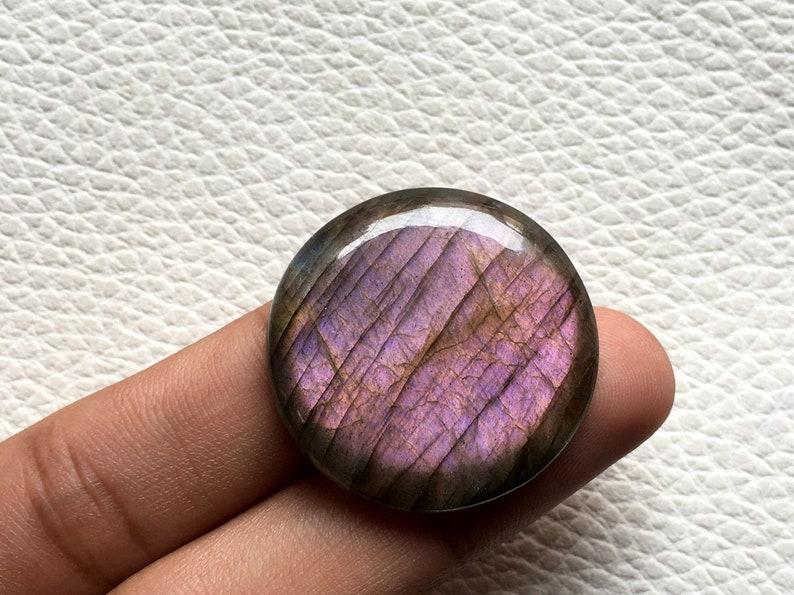 very rare purple labradorite cabochon loose gemstone designer jewelry Smooth Polish Labradorite Cabochon