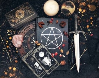 Personalised Witch Mystery Box, witchy mystery gift- crystal witch gift - crystals mystery - altar kit- Mystery box jewelry - pagan gift box