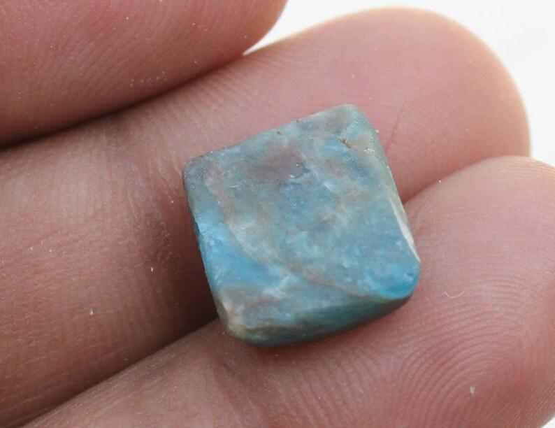 Natural Gemstone, APATITE 11X13X5 MM! Jewelry Making Apatite Loose Stone Fabulous Gemstone Gorgeous Apatite Cushion Cabochon Gemstone