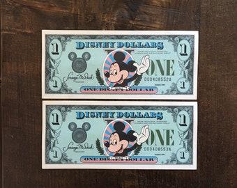 1988 Disney Dollars