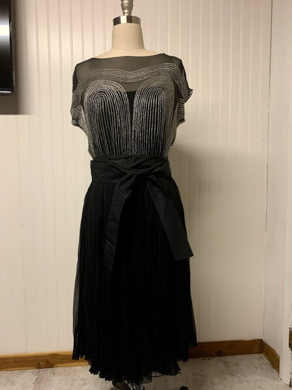 Vintage 1930's Jay Thorpe New York Dress