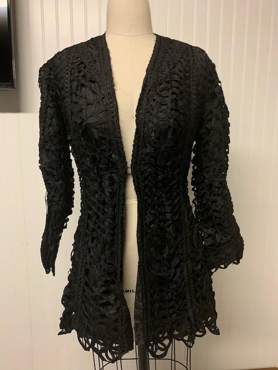 Victorian Ribbon Lace Jacket