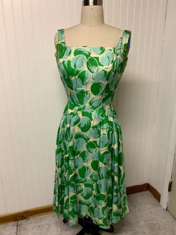 1950's Grenelle Estevez Dress