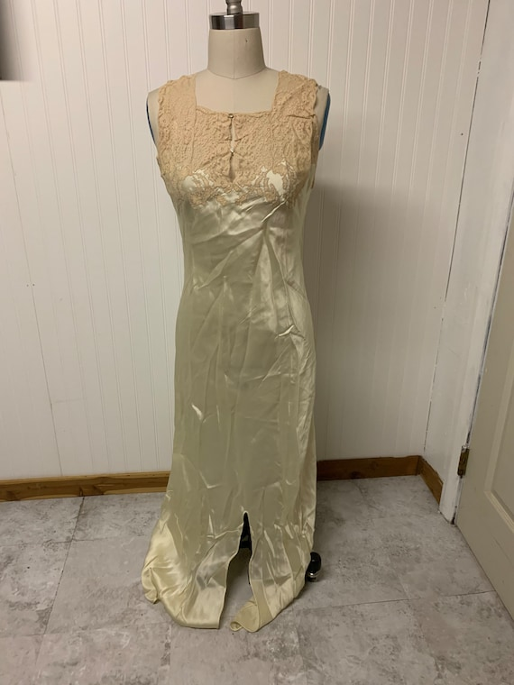 1930's Silk Nightgown
