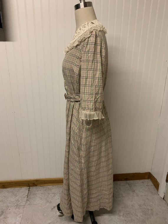 1940's Plaid Dress - image 5