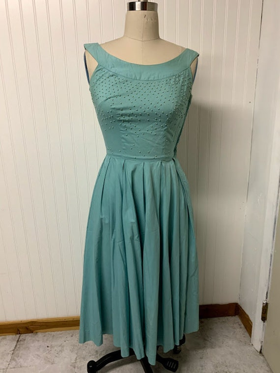 1940s Tailored Junior Dress