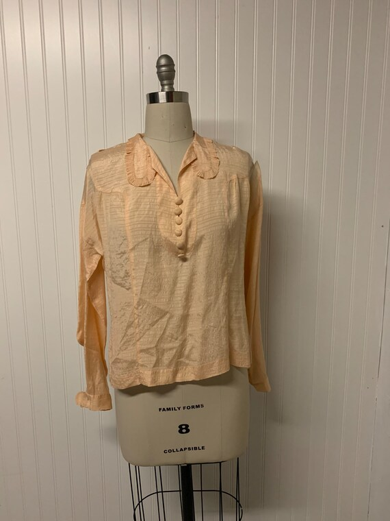 1920's Silk Blouse
