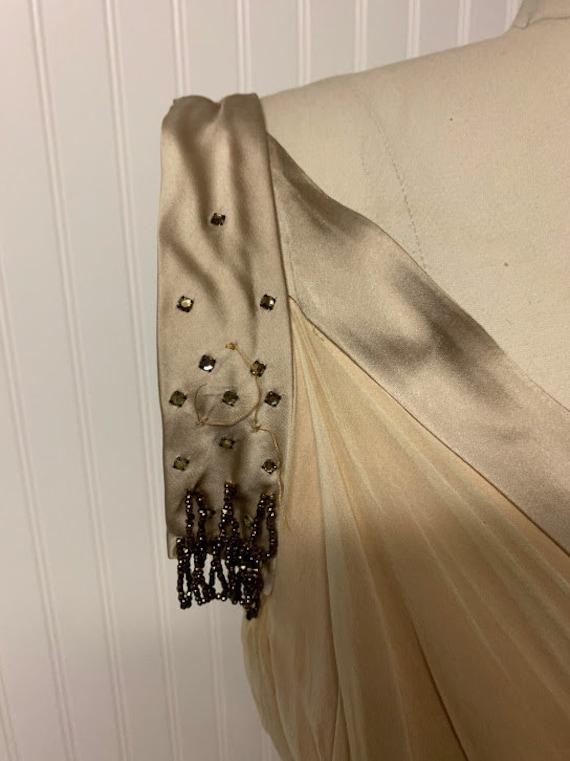 1950's Chiffon Dress - image 3
