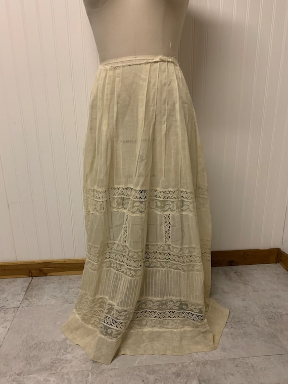 Edwardian Cotton Skirt