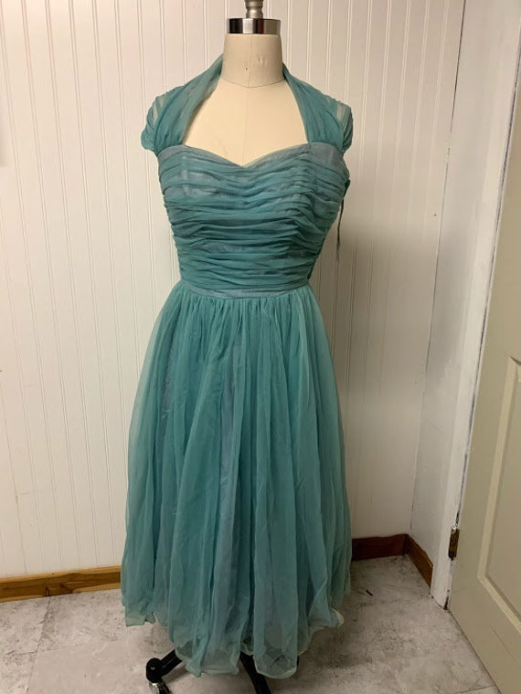 1950's Nylon Party Dress