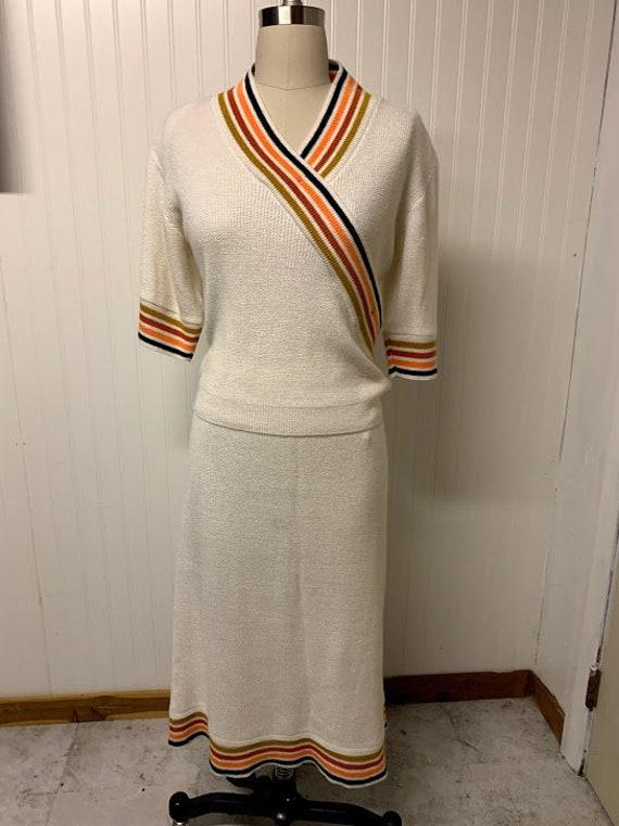 Vintage 1970's Knit Set