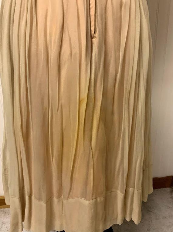 1950's Chiffon Dress - image 9