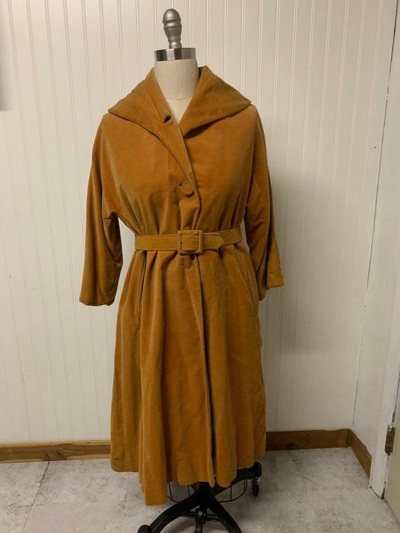 1940's Velvet Coat