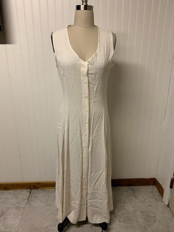 1990's Rayon Midi Dress