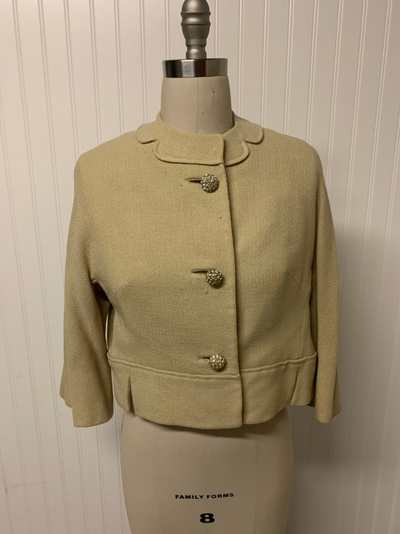 1940's Wool Cropped Jacket
