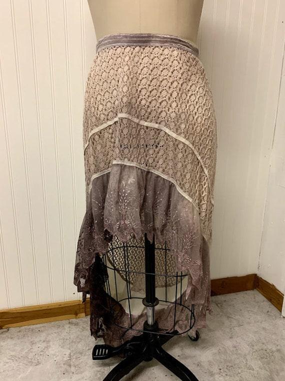 1970's Crochet Skirt