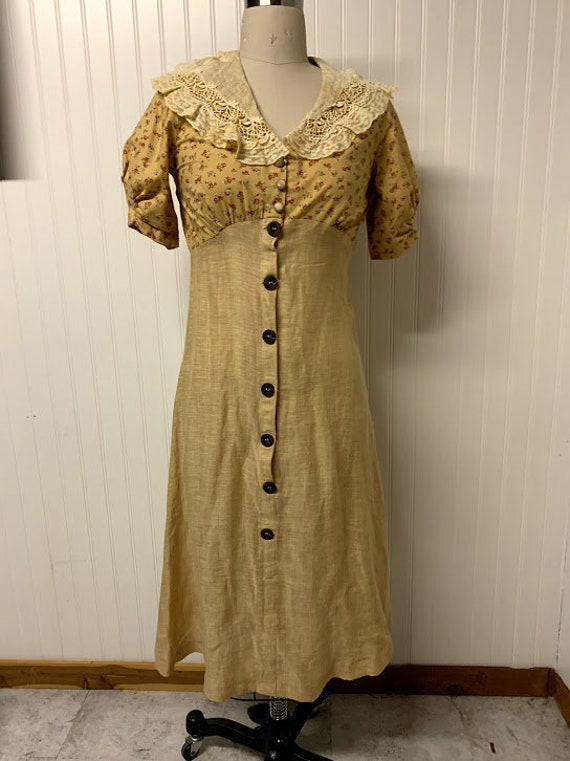 1940's Cotton Day Dress