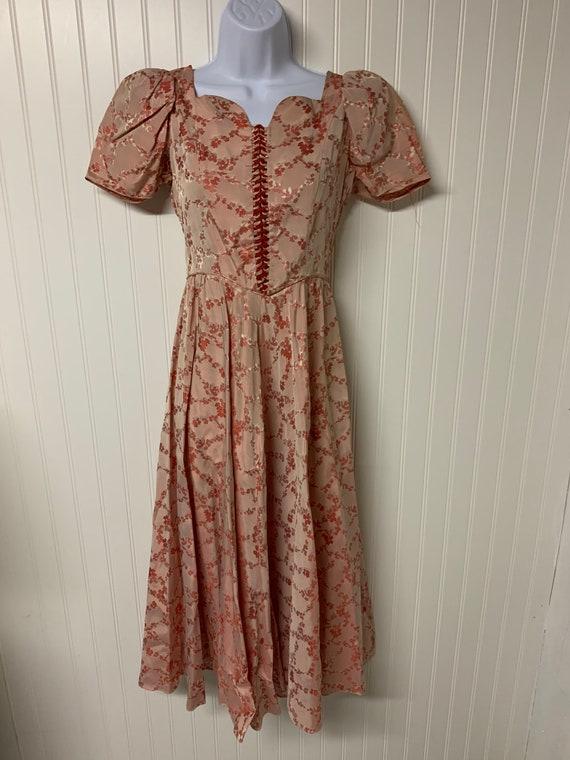 1940's De Pinna Dress
