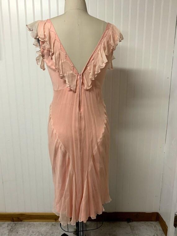 Vintage 1930's Chiffon Dress