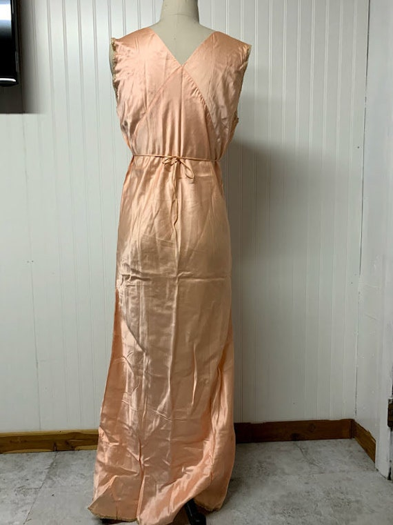 1930's Silk Nightgown - image 6
