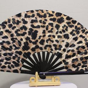 - Circuit Party Fans GREEN UV GLOW Military Slay Fan