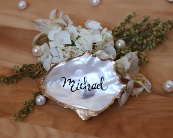 Oyster Shell Place Cards **5 SHELL MINIMUM**