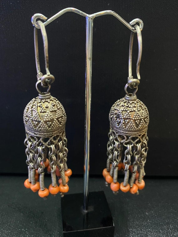Old antique Afghan earring