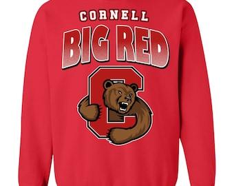 Cornell Big Red Framed Vintage Tobacco Leather