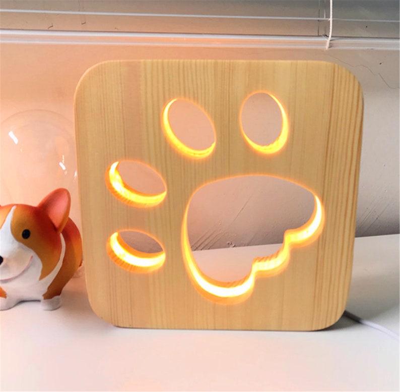 Paw Print Light/Kids Bedroom Decor/ Luci per bambini / Camere Cq0Xl2g4