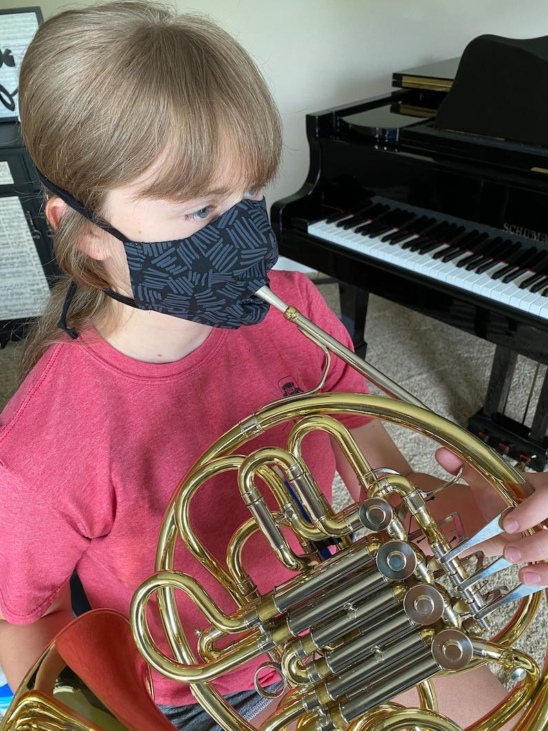 Band Instrument Face Mask image 1
