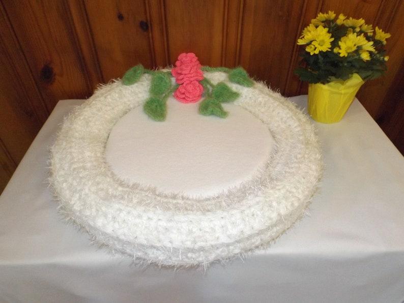 Crochet Pet Bed