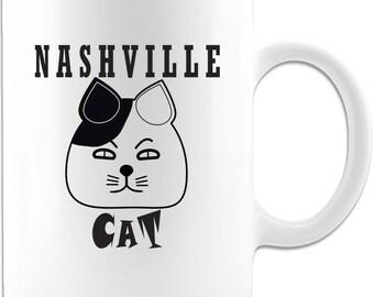 Funny Cat Mug - Nashville Cat