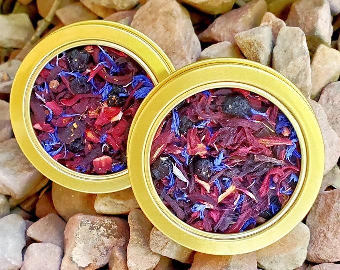 "Featured listing image: Organic ""Desert Moon"" Floral Hibiscus Tea Blend Caffeine-Free"