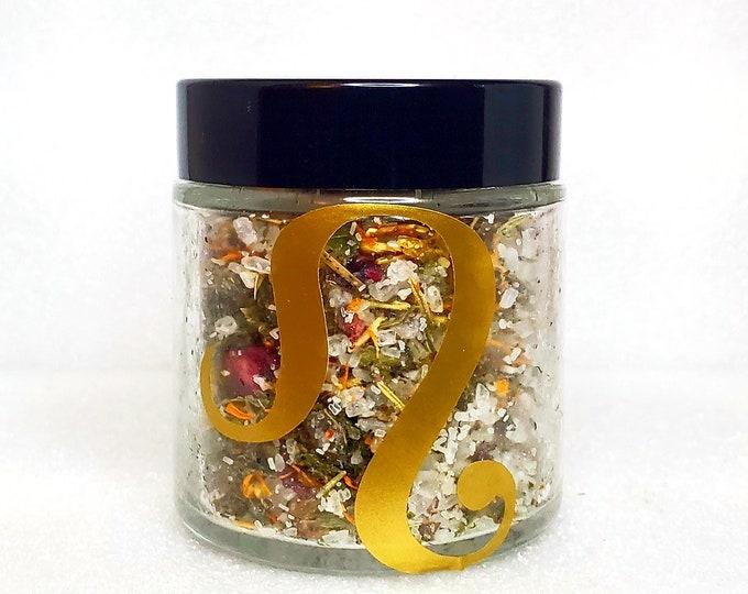 Featured listing image: Leo Zodiac Tea Bath 100% Organic Vegan Luxury Herbal