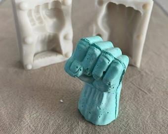 NEW!!! Fist Smash Fondant/Craft Mold