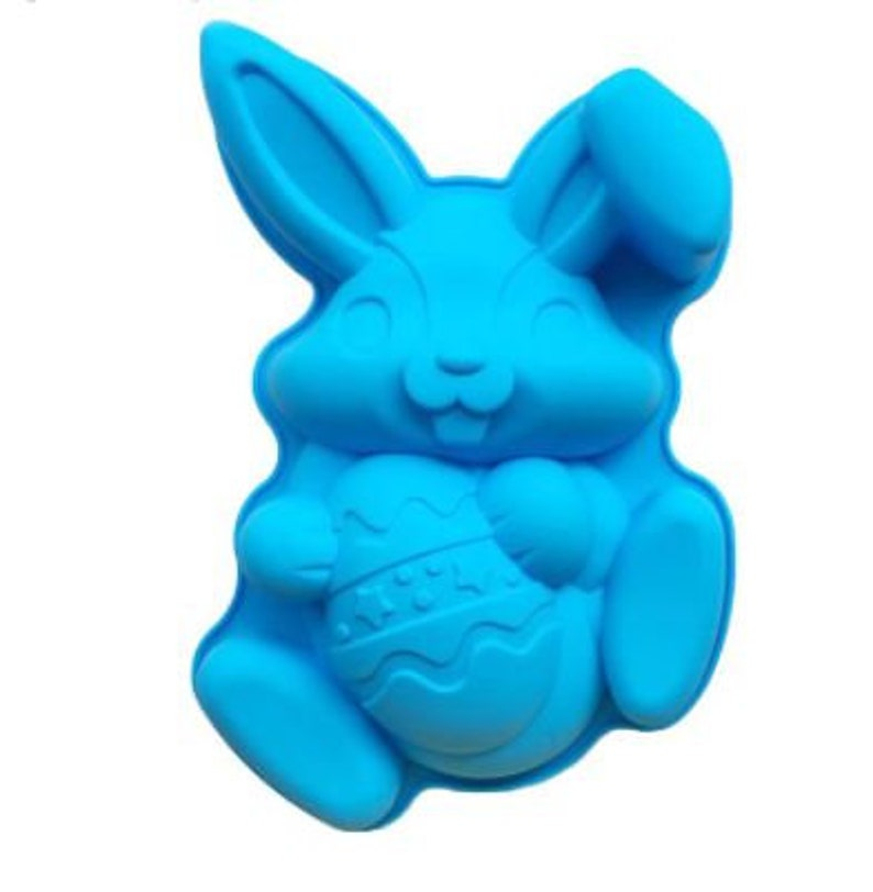 Silicone Easter Bunny Cake Mold image 0