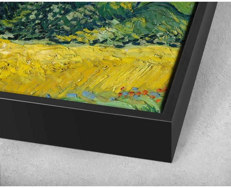 Vincent van Gogh,Wheat Field with Cypresses-sharpen,canvas print,canvas art canvas wall art,extra large canvas art,large canvas wall p287