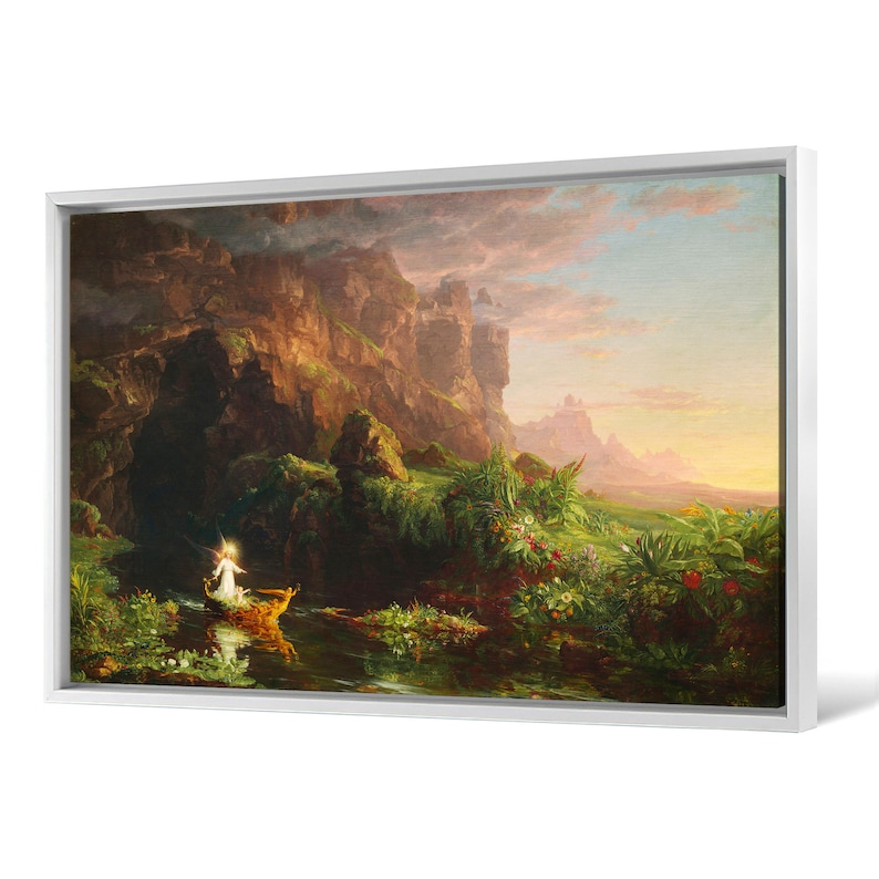 Thomas Cole,The Voyage of Life Childhood,canvas print,canvas art,canvas wall art,large wall art,framed wall art,p2102