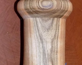 Hand turned Red Maple Peppermill