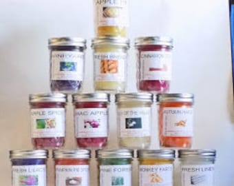 Windy Hill Candle Factory Small Jar Candles 6 count