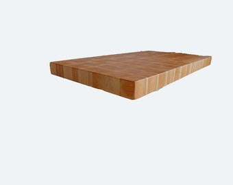 Extra Large Hard Maple butcher block cutting board