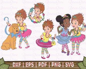Fancy Nancy Svg, Nancy Svg, Disney Svg, Disney Nancy Svg, Disney Fancy Nancy Svg, Nancy Dxf, Fancy Nancy Dxf,Fancy Nancy, Disney Clipart Svg