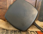 UNCOMMON Unmarked Wagner Square Skillet