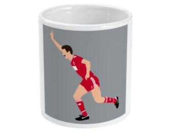 Liverpool 1989 FA Cup Winners Ian Rush Teletext Mug