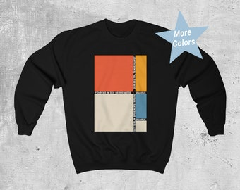 Men's Crew Neck Sweatshirt / Sweater Mockup - Front View in Apparel Mockups  on Yellow Images Object Mockups